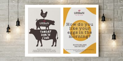 Poster concepts for Urban